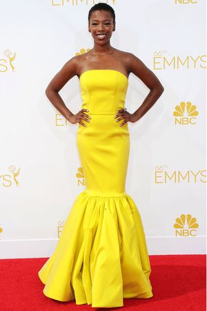 The 66th Annual Primetime Emmy Awards, Arrivals, Los Angeles, America - 25 Aug 2014 Samira Wiley