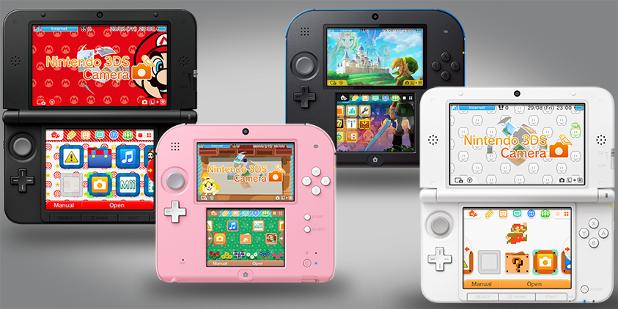 Nintendo 3DS custom themes