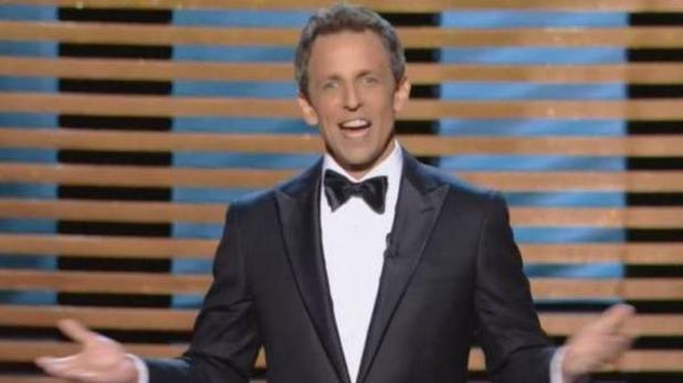 Emmy Awards host Seth Meyers opening monologue