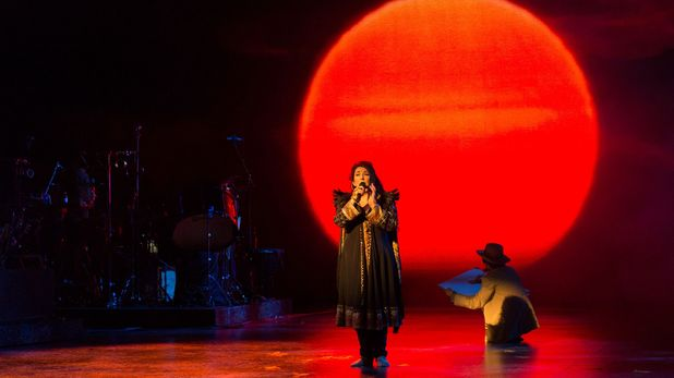 Kate Bush's first live show in 35 years: Pictures from the comeback gig