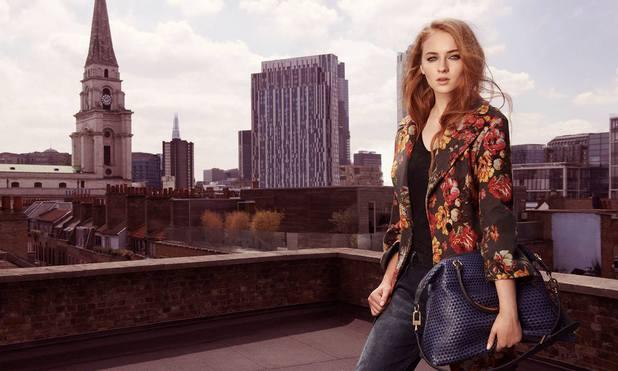 Sophie Turner's Karen Millen modelling campaign