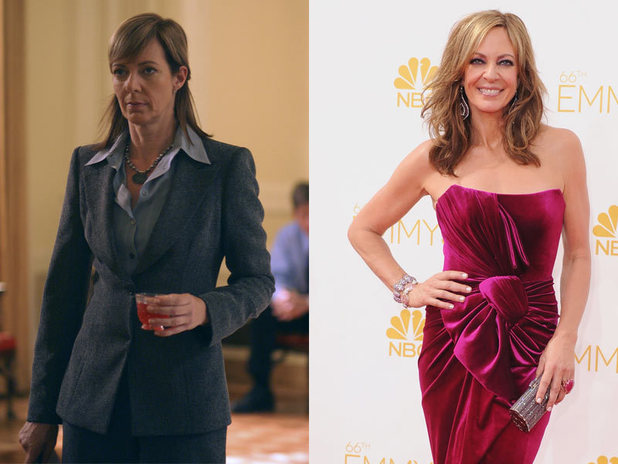 The West Wing stars - then and now: Allison Janney