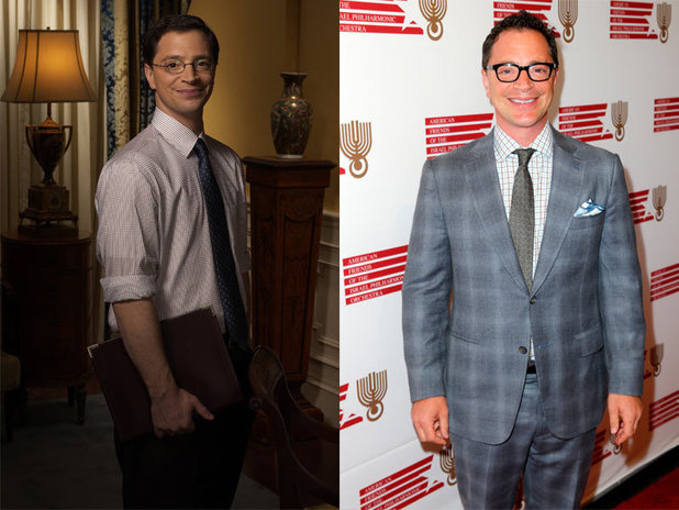 The West Wing stars - then and now: Joshua Malina