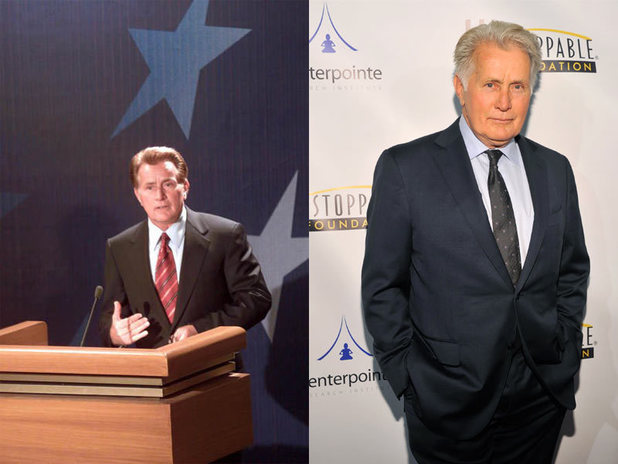 The West Wing stars - then and now: Martin Sheen