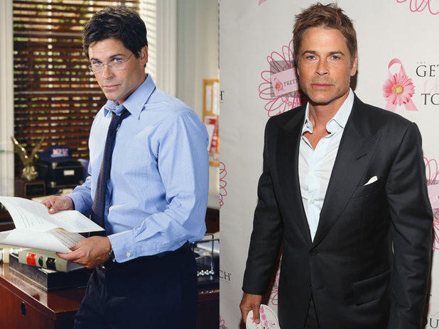 The West Wing stars - then and now: Rob Lowe