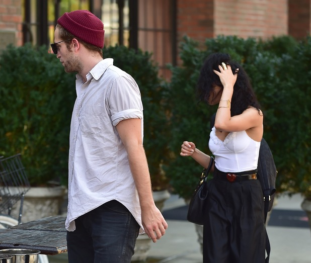 Robert Pattinson and Tahliah Barnett AKA FKA Twigs
