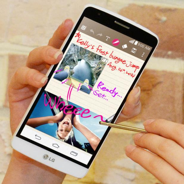 LG's G3 Stylus handset
