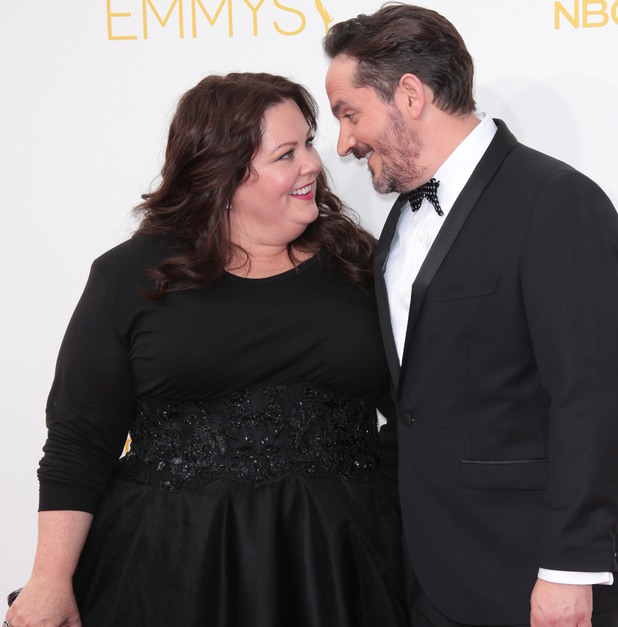 The 66th Annual Primetime Emmy Awards, Arrivals, Los Angeles, America - 25 Aug 2014 Melissa McCarthy and Ben Falcone 25 Aug 2014