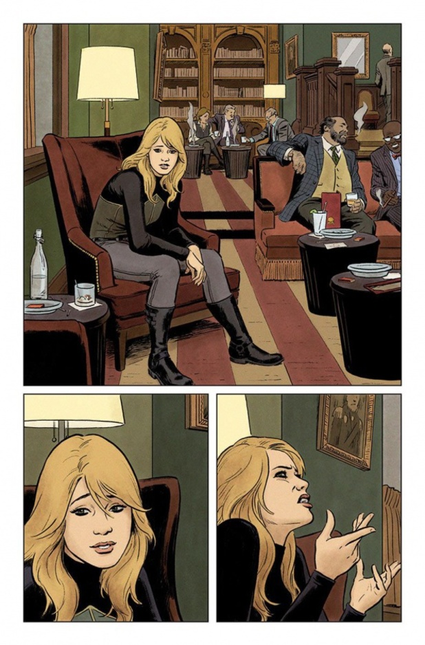 Paolo Rivera's The Valiant #1 interior
