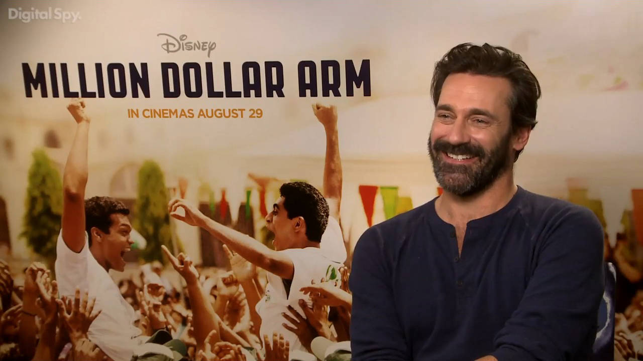 Jon Hamm on Mad Men's end and Million Dollar Arm