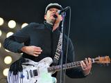 Tom DeLonge of Blink 182 performs at Reading Festival 2014