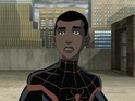 The actor and Spider-Man fan voices Miles Morales in Web Warriors.