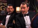 Jimmy Kimmel Live correspondent meets the stars at Primetime Emmy Awards.