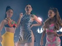 Jessie J, Ariana Grande and Nicki Minaj hit number one with 'Bang Bang'.