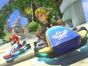 We play as Link on Excitebike and F-Zero-themed courses in the Wii U racer.