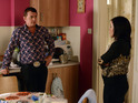 Alfie is pushed to breaking point next week as his money problems continue.