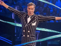 The presenter is the latest celebrity eliminated from the BBC's gymnastics competition.
