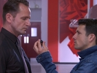 Hollyoaks spoiler pictures: Dodger Savage in new showdown with Patrick
