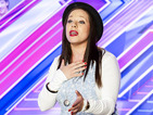 Shoe-shop saleswoman Kerrianne Covell skips work for her X Factor audition.