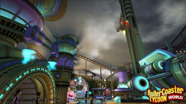 Rollercoaster Tycoon World makes its PC debut in 2015