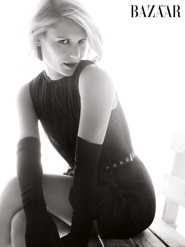 Claire Danes in the October 2014 Issue of Harper's Bazaar