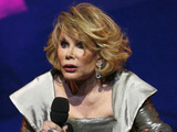 Joan Rivers performing at The 79th Royal Variety Performance at The Empire Theatre, Liverpool, Britain. - 09 Dec 2007