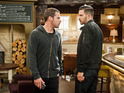 Ross squares up to Aaron tonight following his sentencing.