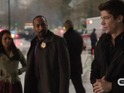 Grant Gustin and Jesse L Martin explore on-screen dynamic in The Flash promo.
