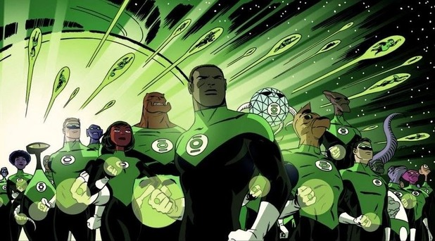 Green Lantern Corps movie in the works