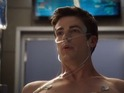 "Grant Gustin says that playing iconic DC Comics hero is ""very surreal""."
