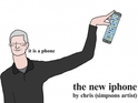 Anonymous cartoonist pokes fun at Apple ahead of the launch of the new iPhone.
