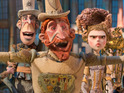 The eccentric animation knocks Sex Tape off the top spot, taking £2m.
