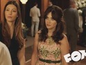 Jessica Biel and New Girl's Zooey Deschanel compete for a bachelor in teaser.