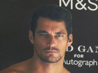 David Gandy or cardboard cut-out? Model launches new underwear range