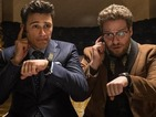 See Rob Lowe remove wig in trailer for Seth Rogen's The Interview