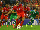 Liverpool's Champions League return seen by 3.6 million on ITV