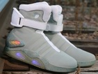 Go Back to the Future with Marty McFly's light-up trainers