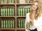 Rosie Huntington-Whiteley launches Coca-Cola Life boutique in London