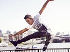 Tom Daley tours London in Adidas modelling debut