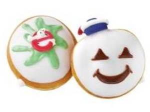 Ghostbusters Krispy Kreme doughnuts