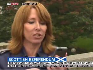 Kay Burley on Sky News