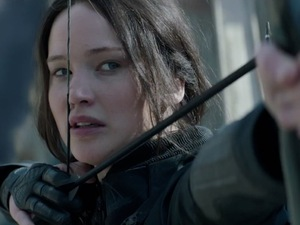 Jennifer Lawrence in Mockingjay teaser
