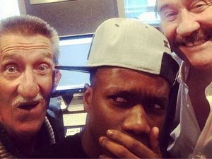 Tinchy Stryder teams with Chuckle Brothers