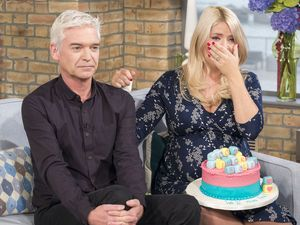 Holly Willoughby cries as she leaves This Morning for maternity leave