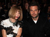 LONDON, ENGLAND - SEPTEMBER 15: Anna Wintour and Bradley Cooper attend the TOM FORD show during London Fashion Week Spring Summer 2015 on September 15, 2014 in London, England. (Photo by David M. Benett/Getty Images)