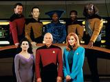 The cast of Star Trek: The Next Generation