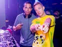 Marvin Humes and Diplo DJing for Niall Horan's 21st birthday