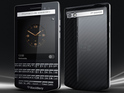 BlackBerry's new luxury smartphone is confirmed at an event in Dubai.