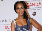 Scandal actress appears at launch of fashion line inspired by Olivia Pope's style.