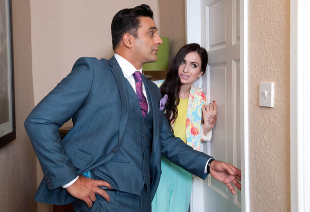 Priya's left humiliated when Rakesh tries to talk to her through the locked door.
